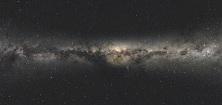 Milky Way galactic plane.